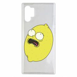 Чохол для Samsung Note 10 Plus Pickle Rick Sanchez