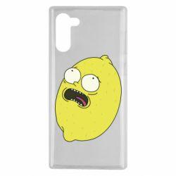 Чохол для Samsung Note 10 Pickle Rick Sanchez