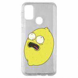Чохол для Samsung M30s Pickle Rick Sanchez