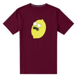 Чоловіча стрейчева футболка Pickle Rick Sanchez