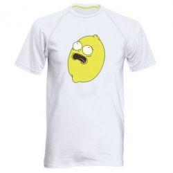 Чоловіча спортивна футболка Pickle Rick Sanchez
