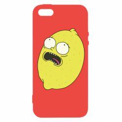 Чохол для iphone 5/5S/SE Pickle Rick Sanchez