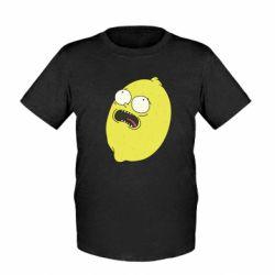 Дитяча футболка Pickle Rick Sanchez