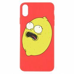 Чохол для iPhone X/Xs Pickle Rick Sanchez