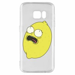 Чохол для Samsung S7 Pickle Rick Sanchez