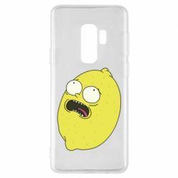 Чохол для Samsung S9+ Pickle Rick Sanchez