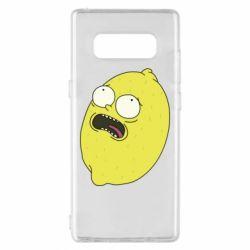 Чохол для Samsung Note 8 Pickle Rick Sanchez