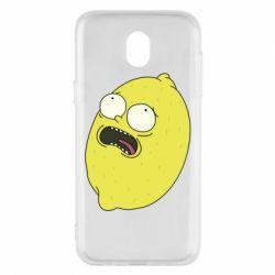 Чохол для Samsung J5 2017 Pickle Rick Sanchez
