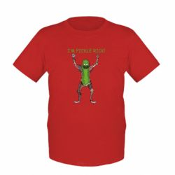 Дитяча футболка Pickle Rick