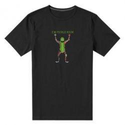 Чоловіча стрейчева футболка Pickle Rick