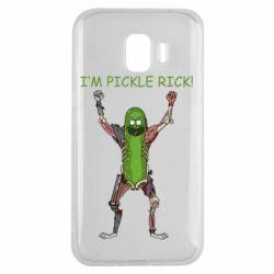 Чохол для Samsung J2 2018 Pickle Rick