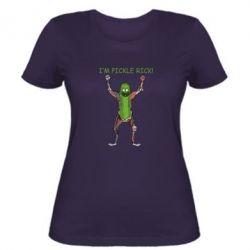 Жіноча футболка Pickle Rick