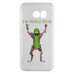 Чохол для Samsung S6 EDGE Pickle Rick