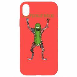 Чохол для iPhone XR Pickle Rick