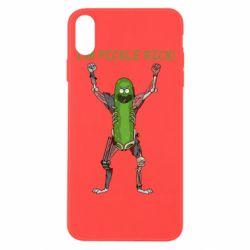Чохол для iPhone Xs Max Pickle Rick