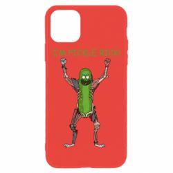 Чохол для iPhone 11 Pickle Rick