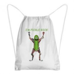 Рюкзак-мішок Pickle Rick
