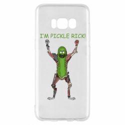 Чохол для Samsung S8 Pickle Rick