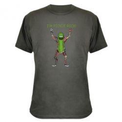 Камуфляжна футболка Pickle Rick