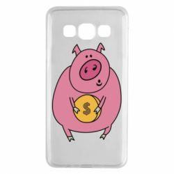 Чохол для Samsung A3 2015 Pig and $