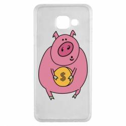 Чохол для Samsung A3 2016 Pig and $