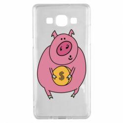 Чохол для Samsung A5 2015 Pig and $