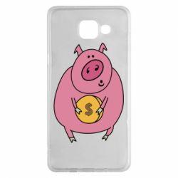 Чохол для Samsung A5 2016 Pig and $