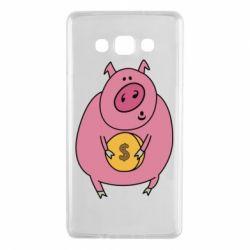 Чохол для Samsung A7 2015 Pig and $