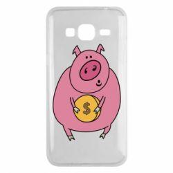 Чохол для Samsung J3 2016 Pig and $