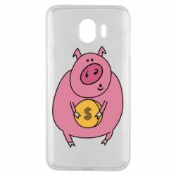Чохол для Samsung J4 Pig and $
