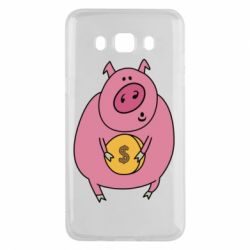 Чохол для Samsung J5 2016 Pig and $