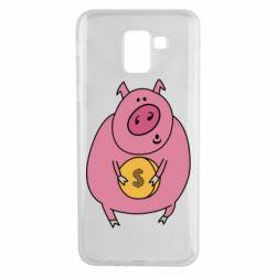 Чохол для Samsung J6 Pig and $