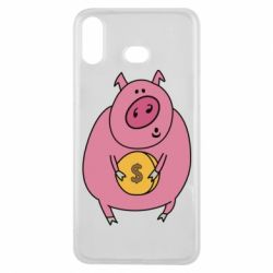 Чохол для Samsung A6s Pig and $