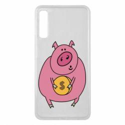 Чохол для Samsung A7 2018 Pig and $