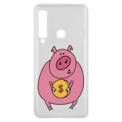 Чохол для Samsung A9 2018 Pig and $