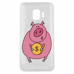 Чохол для Samsung J2 Core Pig and $