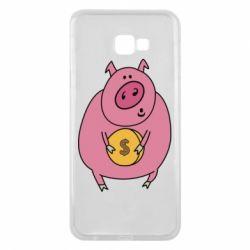 Чохол для Samsung J4 Plus 2018 Pig and $