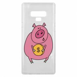 Чохол для Samsung Note 9 Pig and $