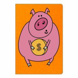 Блокнот А5 Pig and $