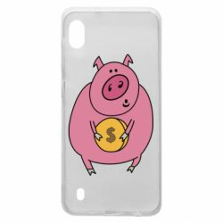 Чохол для Samsung A10 Pig and $