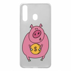 Чохол для Samsung A60 Pig and $