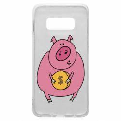 Чохол для Samsung S10e Pig and $
