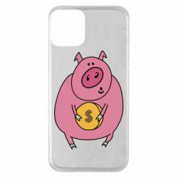 Чохол для iPhone 11 Pig and $