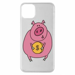 Чохол для iPhone 11 Pro Max Pig and $