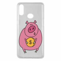 Чохол для Samsung A10s Pig and $