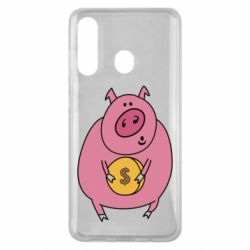 Чохол для Samsung M40 Pig and $
