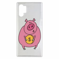 Чохол для Samsung Note 10 Plus Pig and $