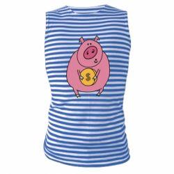Майка-тільняшка Pig and $
