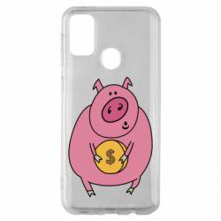 Чохол для Samsung M30s Pig and $