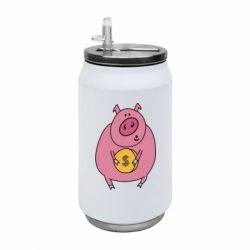 Термобанка 350ml Pig and $